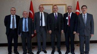 ENKS'ten Çavuşoğlu ile yapılan görüşmeye ilişkin açıklama