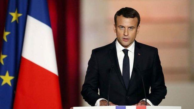 Macron: Fransa topraklarında Türk yasalarına izin vermeyiz ...