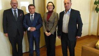 Özerk Yönetim, Belçika Dışişleri Bakanlığı yetkilileriyle görüştü