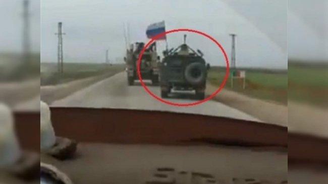ABD güçleri Rojava'da Rus konvoyunu engelledi