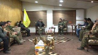 Mazlum Kobani, Senatör Abraham ile bölgede yaşanan olayları görüştük