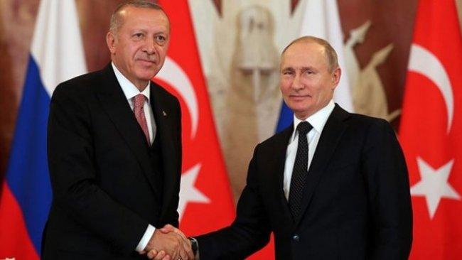 Erdoğan ve Putin görüştü: 'Anlaşmalara bağlıyız'