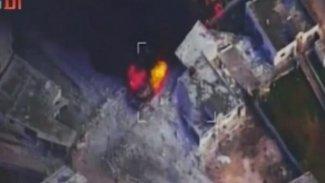 Rus uçaklarının TSK'yı vurduğu anların görüntüsü yayınlandı
