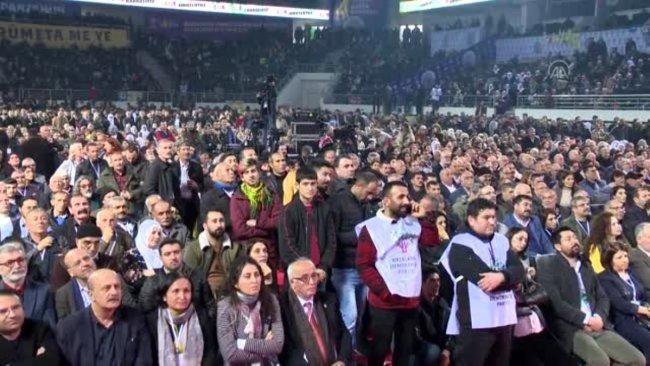 HDP kongresinde bir kişi hayatını kaybetti