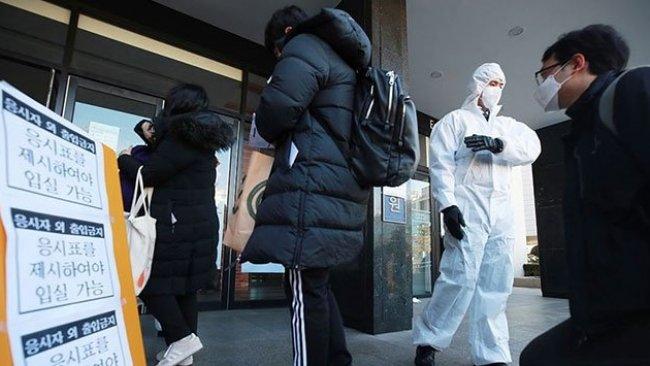 Koronavirüs salgını: Güney Kore'de alarm seviyesi en yükseğe çıkarıldı!