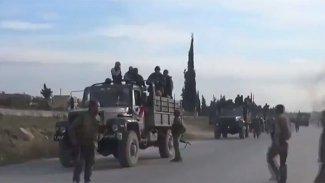 Suriye ordusu İdlib'e askeri yığınak yapıyor