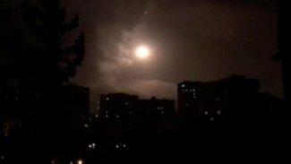 İsrail'den Şam'a füze saldırısı...Hava savunma sistemlerinden misilleme!