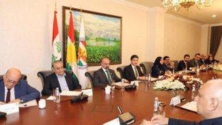 Kürdistan partileri Neçirvan Barzani başkanlığında bir araya geldi