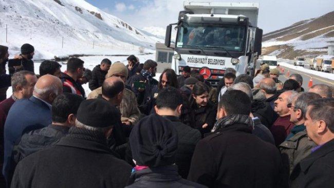 HDP'li belediyelerin yardımları deprem bölgesine alınmadı
