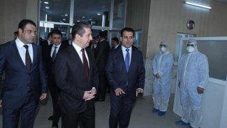 Başbakan Mesrur Barzani koronavirüs açıklaması