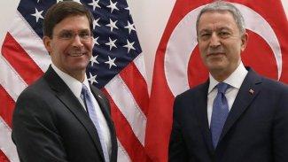 Hulusi Akar, ABD Savunma Bakanı Esper ile görüştü