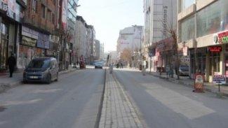 Van'da koronavirüs endişesi: Cadde ve sokaklar boşaltıldı!