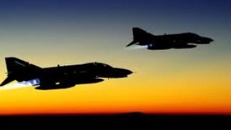 Türk F16'ları Lazkiye'yi vuruyor