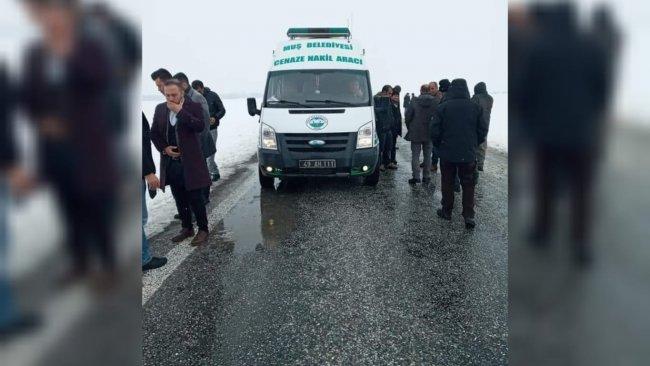Kürt yazar ve siyasetçi Zeynel Abidin Han'ın cenaze merasimine polis engeli