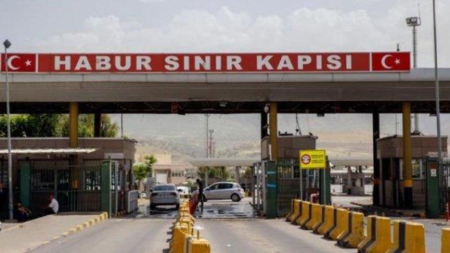 Habur Sınır Kapısı, 'koranavirüs' nedeniyle kapatıldı