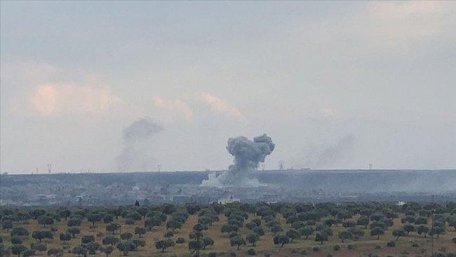 TSK, Suriye rejimine ait askeri havaalanını vurdu