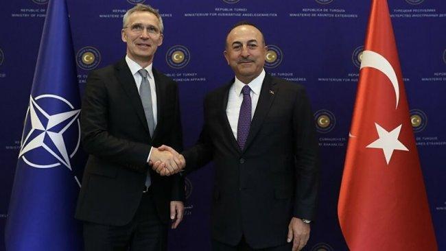 Çavuşoğlu, NATO Genel Sekreteri Stoltenberg'le görüştü
