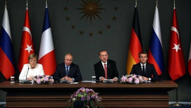 Putin, Merkel'in 'dörtlü İdlib zirvesi' talebini reddetti