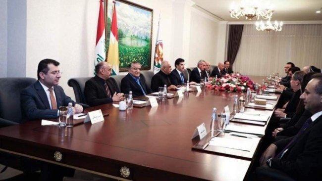 Başkan Neçirvan Barzani parti liderleri ile görüştü