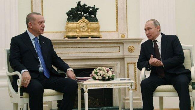 Putin-Erdoğan görüşmesi başladı...Liderlerden ilk açıklamalar!