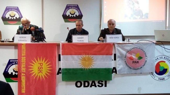 Diyarbakır'da Ölümsüz Lider Mele Mustafa Barzani'yi anma etkinliği