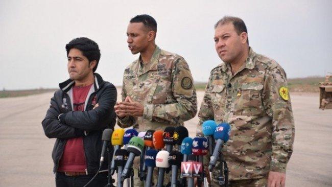 Koalisyon Sözcüsü: DSG ile IŞİD'e karşı operasyonlar yapıyoruz
