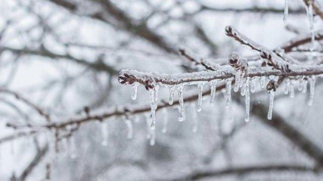 Kürt illerine,Buzlanma ve çığ uyarısı