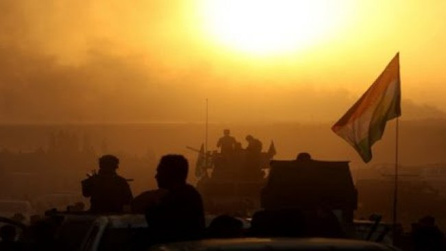 Peşmerge ve Koalisyon'dan IŞİD'e operasyon