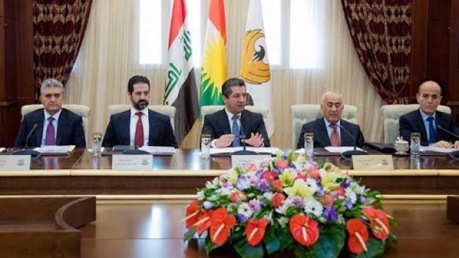 Bakanlar Kurulu Mesrur Barzani başkanlığında 'Koronavirüs' gündemiyle toplandı