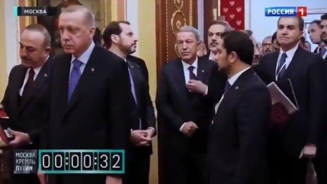 Erdoğan'dan kronometreli bekletilme videosuna yanıt