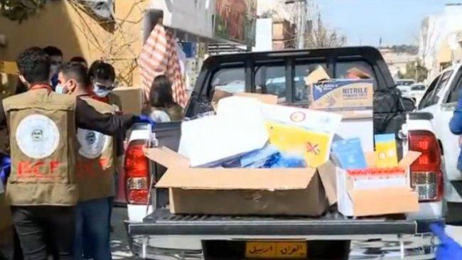 Barzani Yardım Vakfı'ndan Koronavirüs'ten korunma yardımı