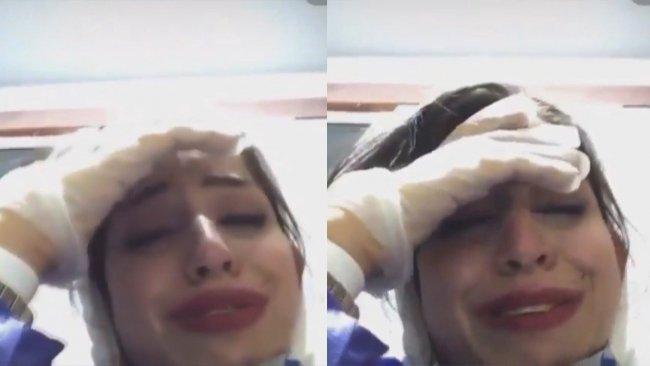 İranlı hemşire ağlayarak açıkladı: Bugün gözümün önünde 100 kişi öldü!