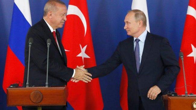 Erdoğan ve Putin İdlib'i görüştü