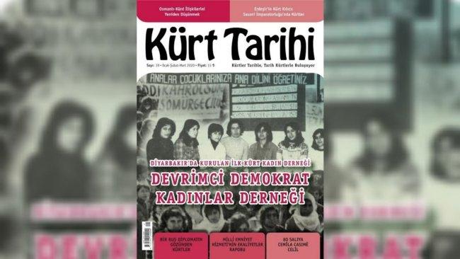 Kürt Tarihi Dergisi'nin 39. sayısı çıktı