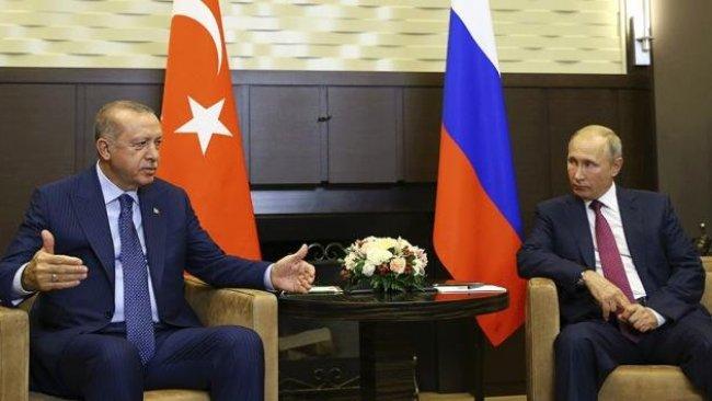 Arap basını: 'Erdoğan'dan Putin'e Suriye teklifi'