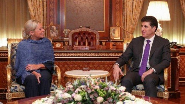 Başkanı Neçirvan Barzani, BM Özel Temsilcisini kabul etti