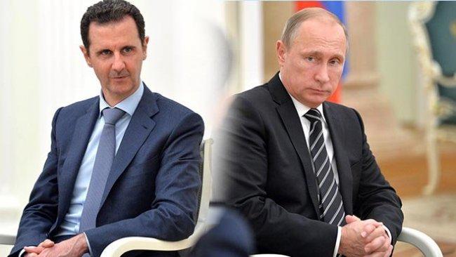Putin ve Esad 'İdlib'i görüştü