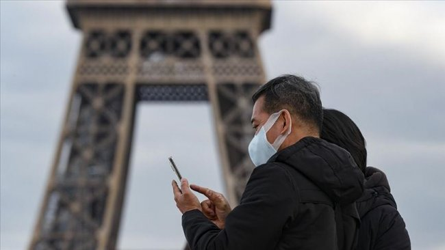 Fransa'da son 24 saatte 112 kişi koronavirüsten hayatını kaybetti