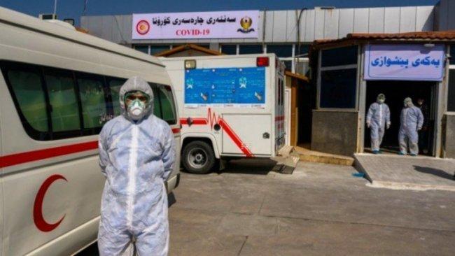 Kürdistan Bölgesi'nde bir koronavirüs vakası daha tespit edildi