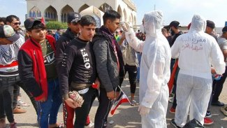 Bağdat'ta sokağa çıkma yasağına uymayanlara gözaltı