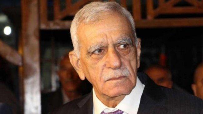 Ahmet Türk'ten çağrı: Daha büyük acılar yaşamayalım diye...