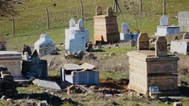 Azadî Hareketi'nden Ezidi mezarlıklarının tahrip edilmesine tepki