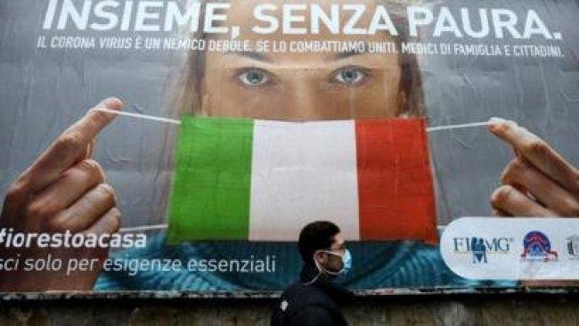 İtalya'da son 24 saatte 756 kişi hayatını kaybetti