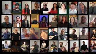 Kürt sanatçılardan İtalya halkına 'Çav Bella'lı dayanışma klibi