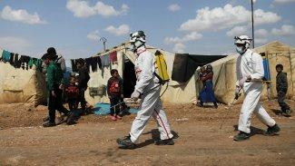 Suriye'de koronavirüsten ilk ölüm!