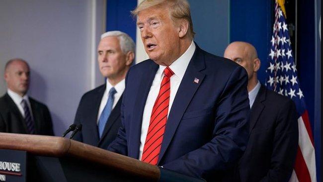Trump'tan 'zorunlu karantina' açıklaması