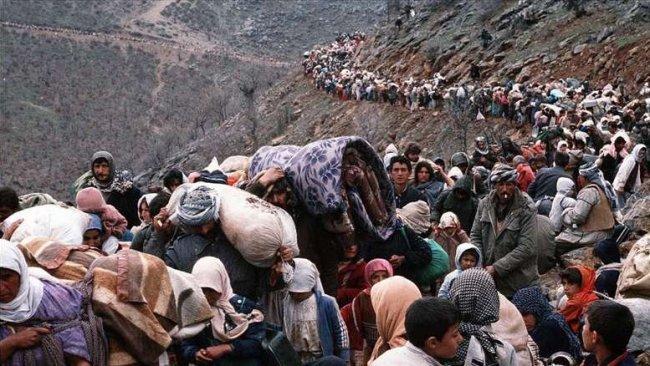 29. yılında Kürtler'in büyük göç öyküsü