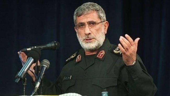 Kudüs Gücü Komutanı Kaani'den Irak'a gizli ziyaret