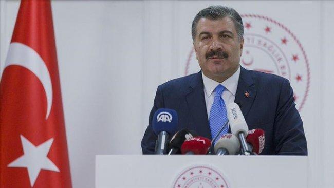 Türkiye'de Koronavirüs nedeniyle son 24 saatte 63 kişi hayatını kaybetti