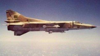 Libya Ulusal Ordusu savaş uçağı düşürdü